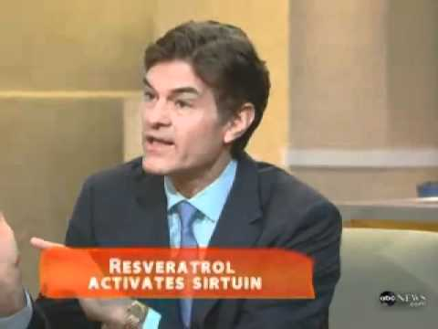 Dr. Oz talks about Resveratrol - YouTube