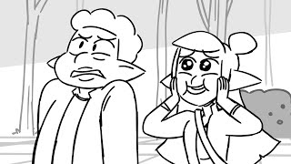 Deep in the Forest (storyboard animatic)