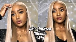 $39 Amazon Blonde Lace front Wig   SwetCurly Hair Company