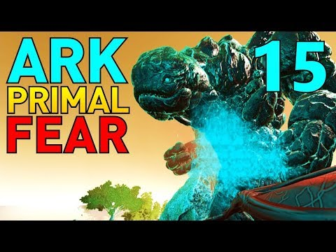[15] Pikkon The Creator Boss! (Let's Play ARK Primal Fear Multiplayer)