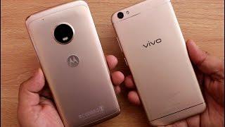 Moto G5 Plus Vs Vivo V5 SpeedTest I Hindi