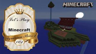 Let's Play - Minecraft - Agrarian Skies 2 - Part #001 ★ Eine neue Insel