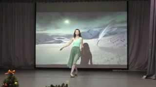 """Щепина Настя и Цвелева Маша, 9В класс, танец """"Вдохновение"""""""