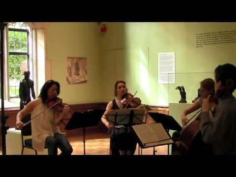 Beethoven Quartet in Bb major, Op. 18 no. 6