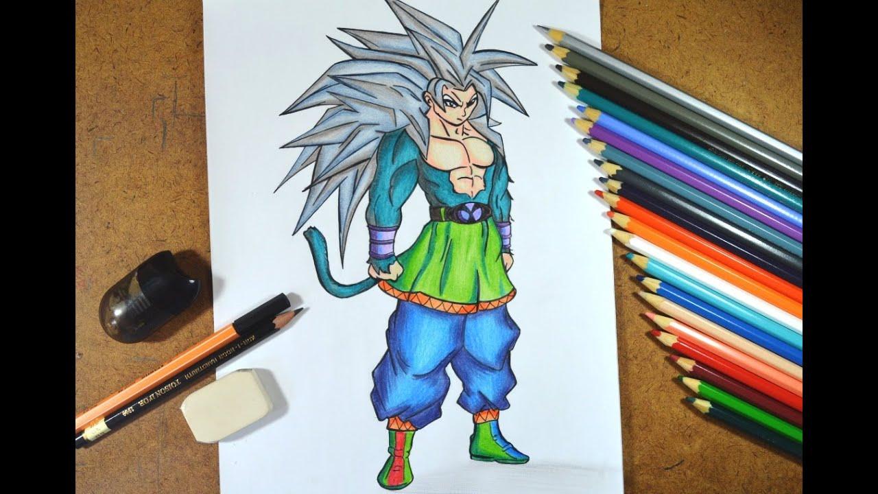Desenho De Saiyan Para Colorir: Desenho E Dicas Para Colorir