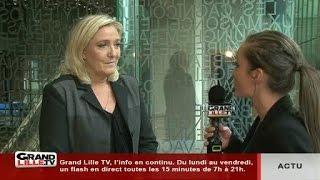 Régionales: un point sur la campagne de Marine Le Pen