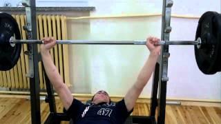 Marczak -  Świdwin 125 kg 3 razy. prawie jak Burneika.mp4 2017 Video