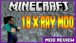 Minecraft 1.8 Xray Mod ShowCase |Download|