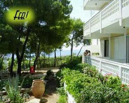 Vacation in Sounio Greece Sounion HARIS Urlaub Griechenland