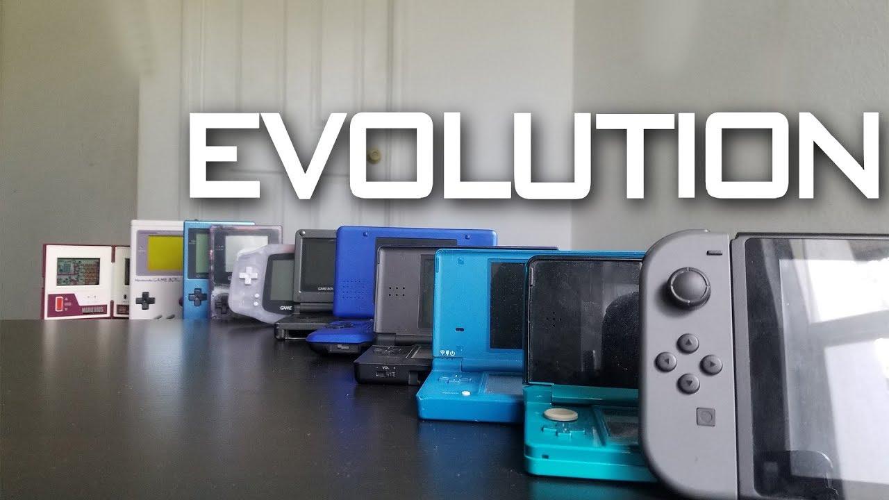 evolution of nintendo handhelds 1980 2017 youtube