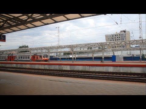 Прибытие на станцию Нижний-Новгород Московский