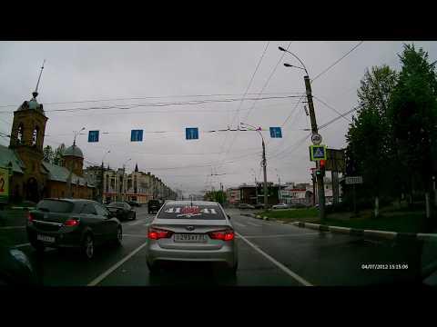 Иваново   треллейбус и автобус едут на красный