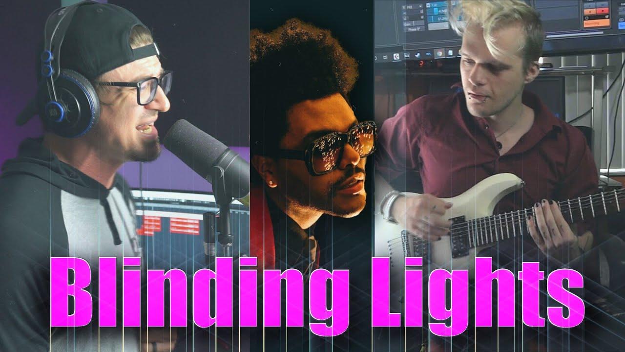 Download The Weeknd - Blinding Lights INDUSTRIAL METAL Cover by MARYJANEDANIEL ft Joey 'Straixin' Prendergast