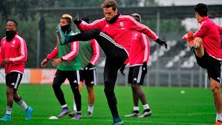 La Juventus prepara la sfida contro il Milan - Juve step up preparations for Milan match