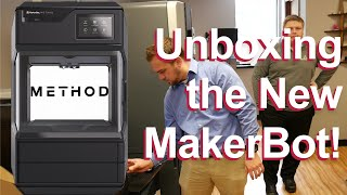 Unboxing our Method by MakerBot 3D Printer + Timelapse!