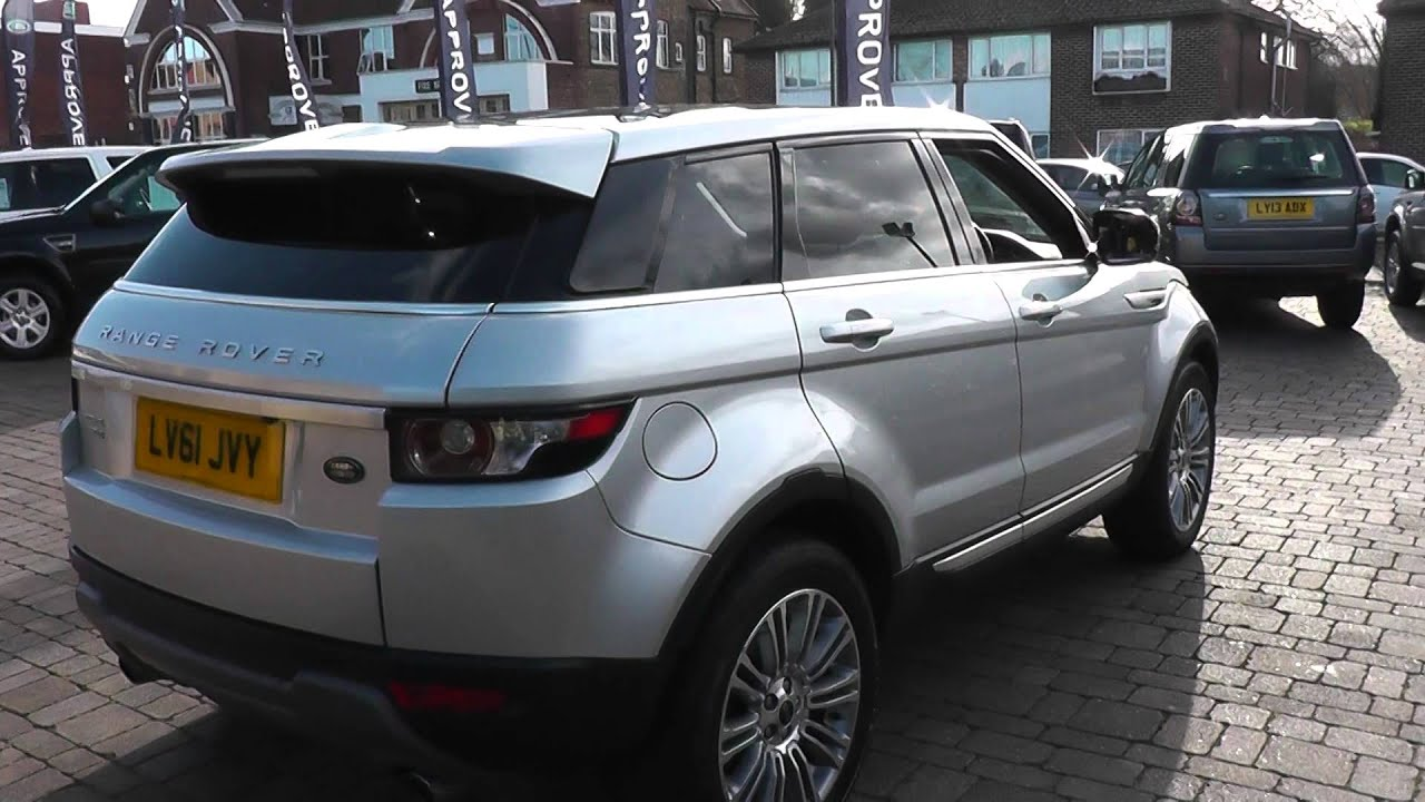 2011 Land Rover Range Rover Evoque 2 2l Silver LV61JVY for sale at