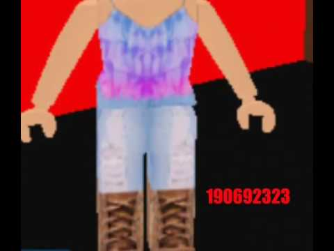 Roblox Clothes Codes For Girls