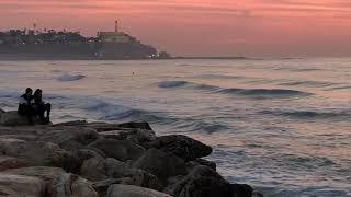 Tel Aviv's inviting promenade runs along the coast