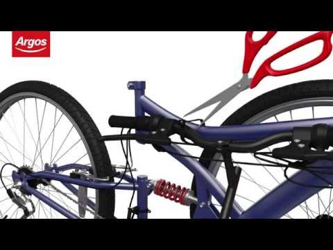 Mountain Bike with V-Brakes Assembly Guide