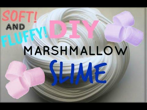 DIY MARSHMALLOW SLIME!   FAIRYSLIMESSS 2017