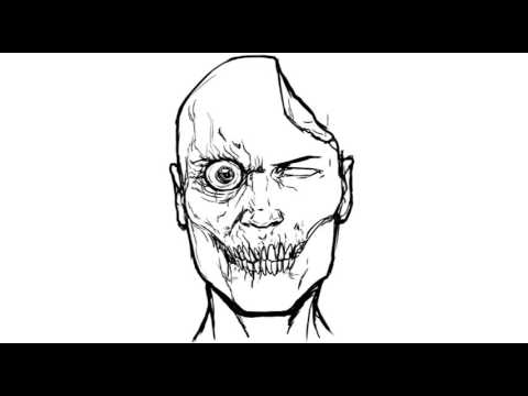 How To Draw A Zombie Easy Things To Draw Youtube