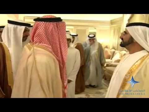 Mohammed bin Rashid attends Al Nahyan wedding