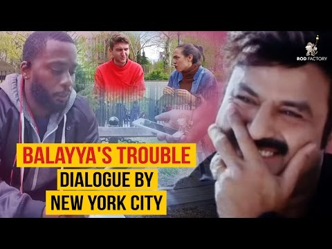 Balayya's Trouble Dialogue by New York City | Comedy Video | Rod Factory