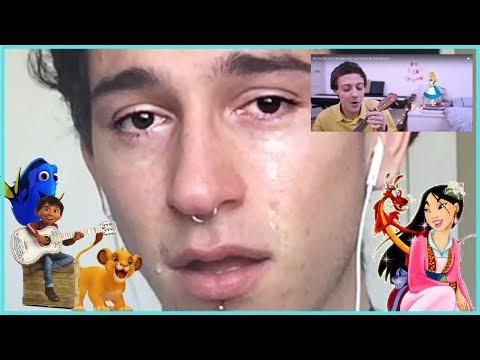 reaccionando a DE ELLOS APRENDÍ - David Rees (intenta no llorar) + la vida siendo gay!!