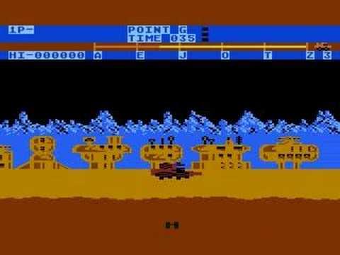 Moon Patrol (Atari 800XL)
