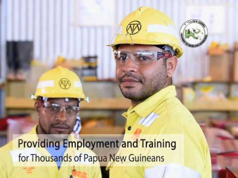 Papua New Guinea Resource Industry Contributions