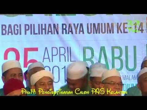 Majlis Pengisytiharan Calon PAS Kelantan PRU14