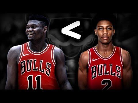 Why The Bulls Should Take RJ Barrett Over Zion Williamson!
