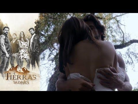 Isabel y Daniel se entregan al amor | En tierras salvajes- Televisa
