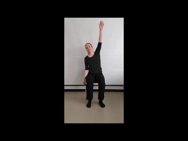 Virike-videot (sosteri) Virkeyttä ja liikettä tuolijumpalla