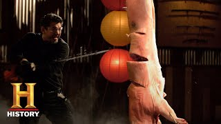 Forged in Fire: 9-RING BROADSWORD SHATTERS KUNG-FU FINAL ROUND (Season 7) | History