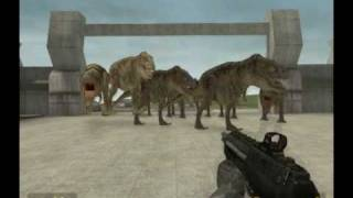 Gmod T-rex Dinosaur NPC