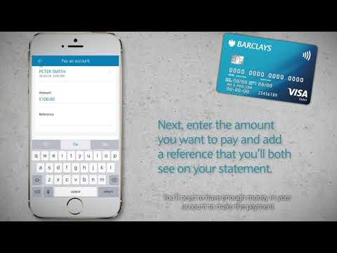 How to make payments with the Barclays app