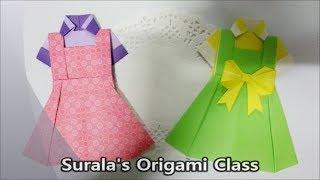 Origami - Blouse & Dress / 종이접기 - 블라우스와 원피스
