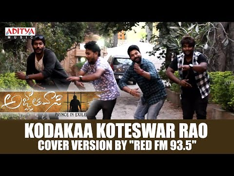 "Kodakaa Koteswar Rao Cover Version By ""Red FM 93.5"" 