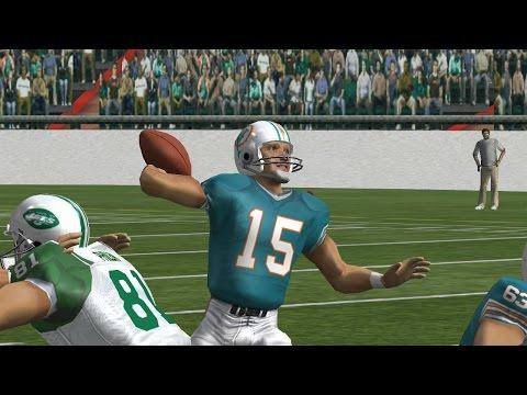 Madden 08 -1966 Season - Week 13 - Jets at Dolphins Highlights
