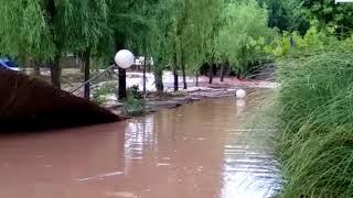 Camping de Navarrete inundado