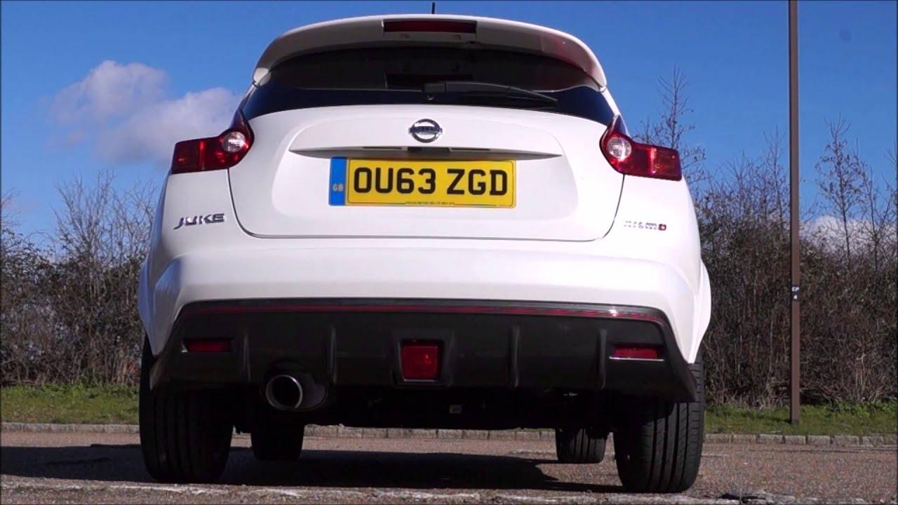 Nissan juke nismo exhaust sound revving youtube vanachro Images