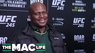 Derrick Lewis makes it clear: He doesn't watch the UFC, and he doesn't care
