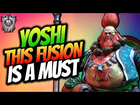 FULLY MAXED YOSHI THE DRUNKARD | THIS IS A 200IQ CHAMPION | GOD TIER FUSION RAID SHADOW LEGENDS