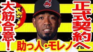 阪神 助っ人外国人・モレノと契約「助っ投5人態勢」球団史上初、投はほぼパーフェクト、残るは長距離砲