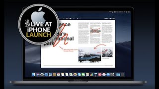 Your MacBook gets a major update THIS MONTH - macOS Mojave release date announced