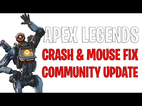 Apex Legends crash fix, mouse fix and 16k Cheaters Banned and