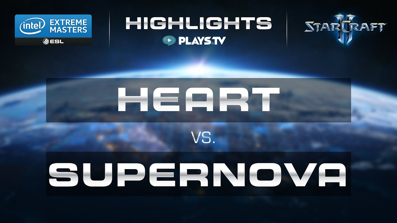 StarCraft 2 - Highlight - Heart vs. Supernova (TvT) - IEM ...