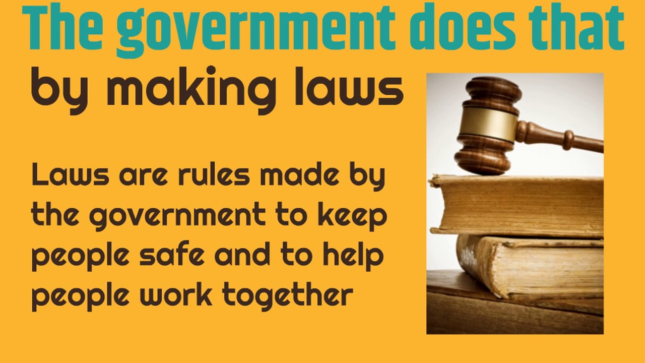 Purpose of Government for Kids   Classroom Edition
