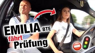Praktische Führerscheinprüfung mit Emilia BTE 🤯 | Fischer Academy